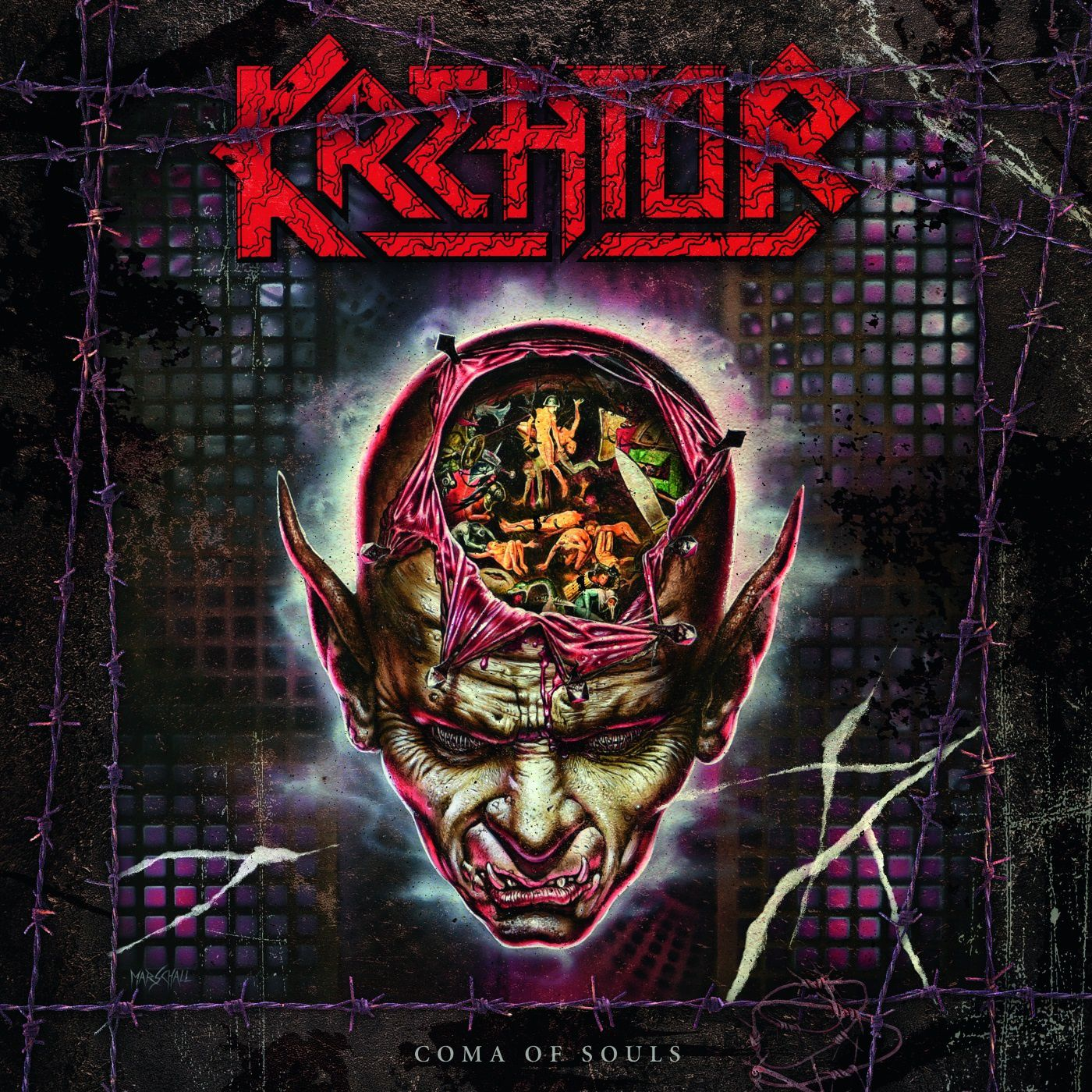 """CD review KREATOR """"Coma of Souls"""" / """"Renewal"""" / """"Cause of Conflict"""" / """"Outcast"""" - reissues"""