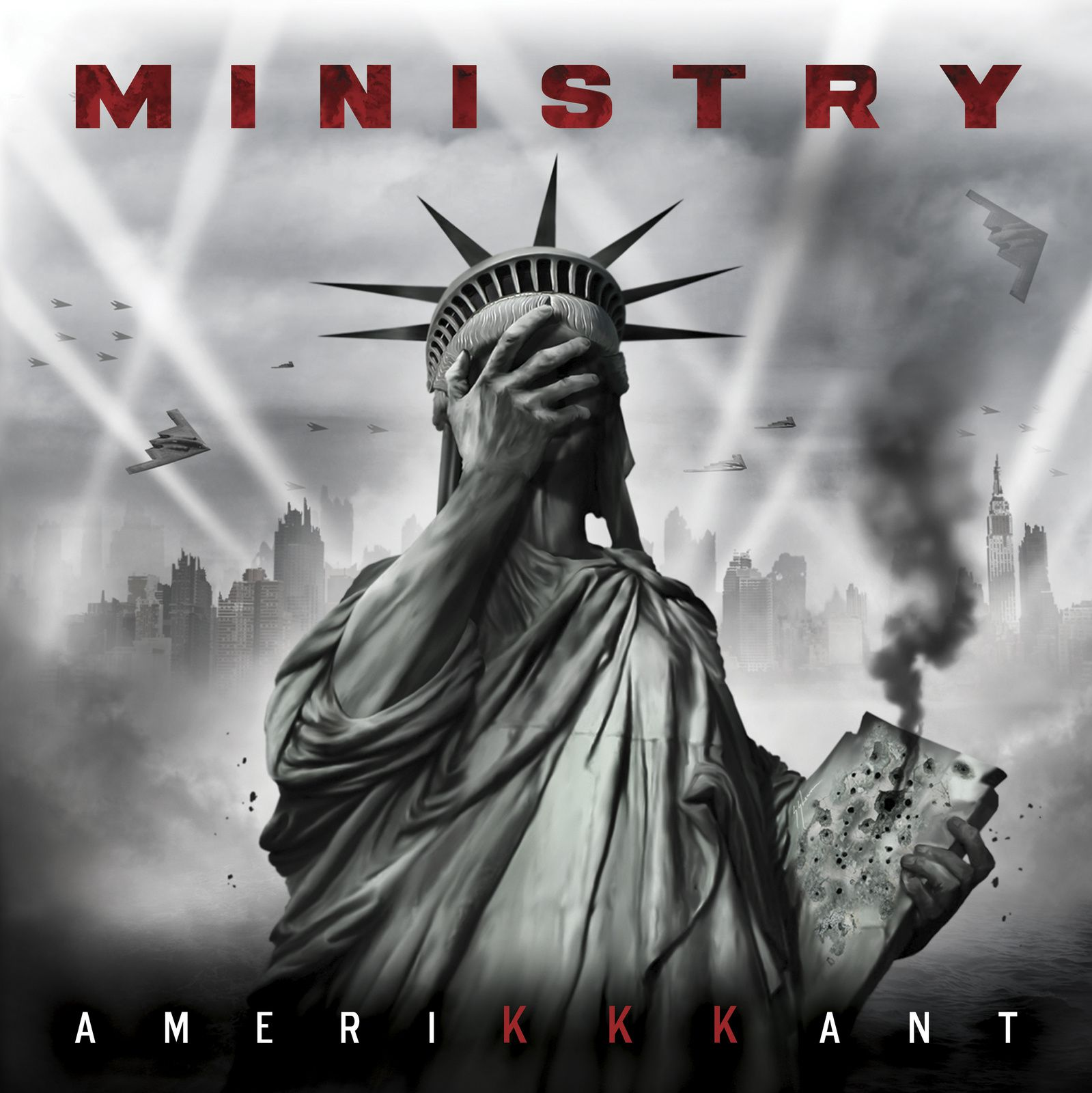 "CD review MINISTRY ""AmeriKKKant"""