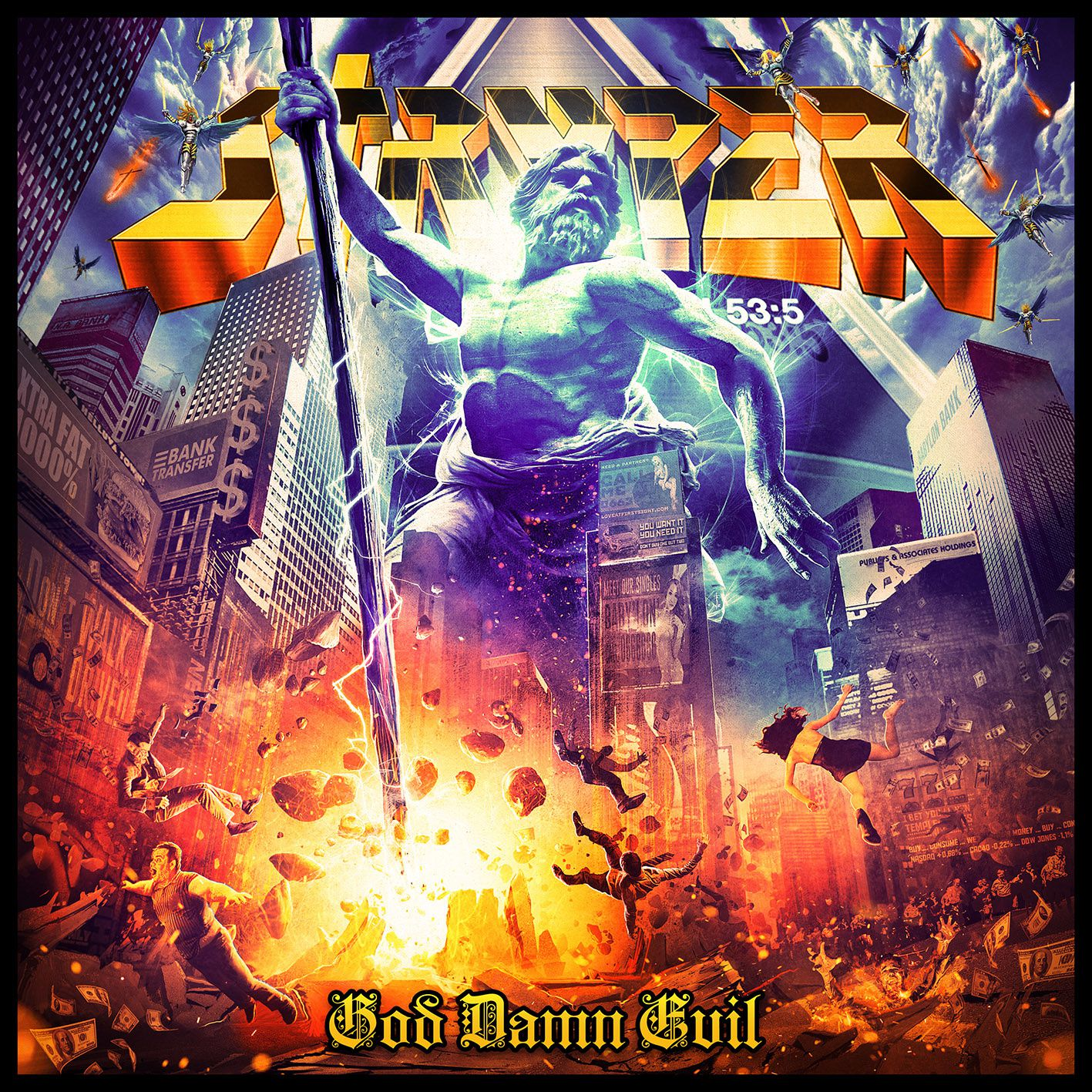 "CD review STRYPER ""God Damn Evil"""