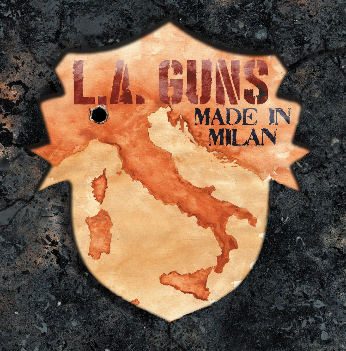 "CD review L.A. GUNS ""Made in Milan"""