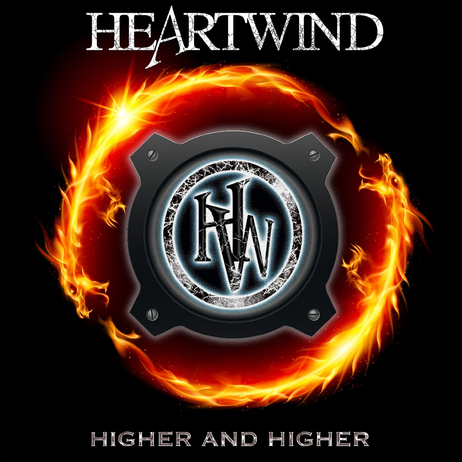 """CD review HEARTWIND """"Higher and Higher"""""""