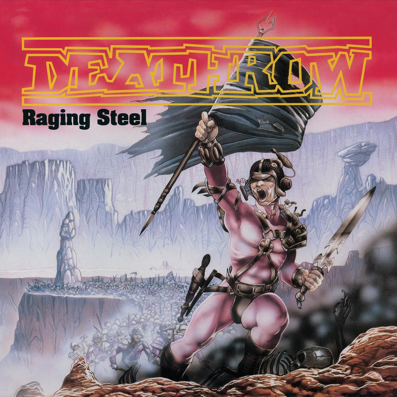 """CD review DEATHROW """"Riders of Doom"""" / """"Raging Steel"""" / """"Deception Ignored"""" - re-issues"""
