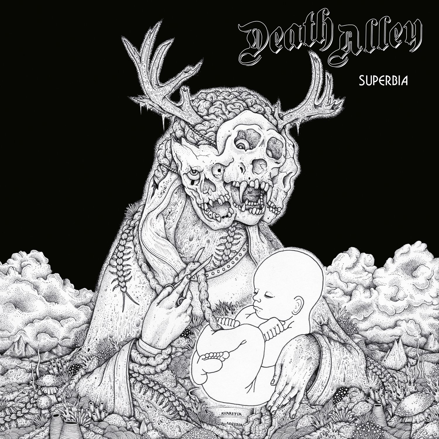 """CD review DEATH ALLEY """"Superbia"""""""