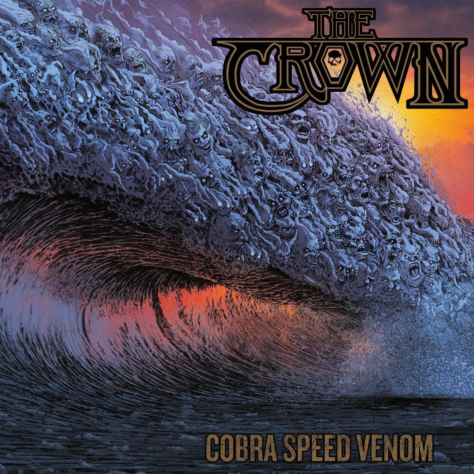 "CD review THE CROWN ""Cobra Speed Venom"""