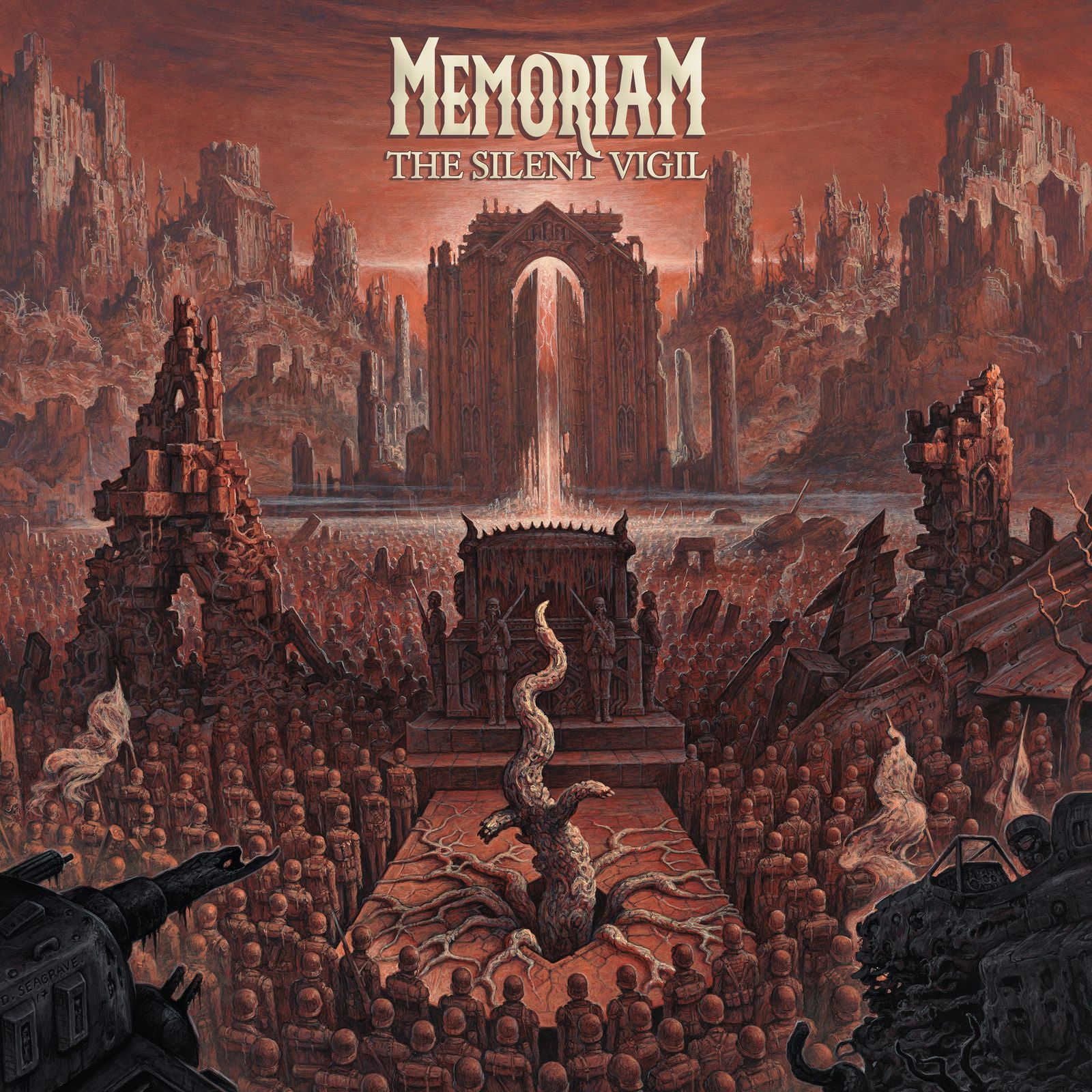 "CD review MEMORIAM ""The Silent Vigil"""