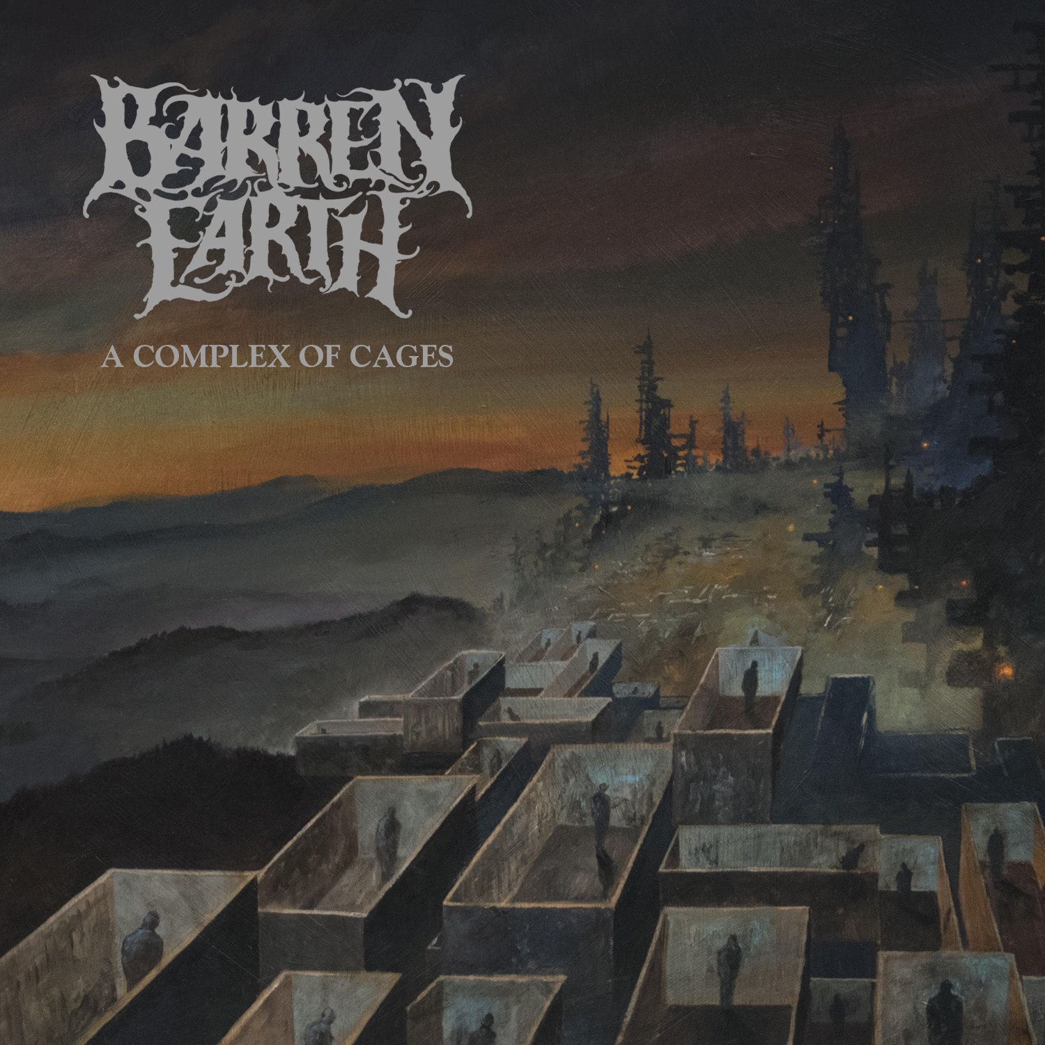 "CD review BARREN EARTH ""A Complex Of Cages"""