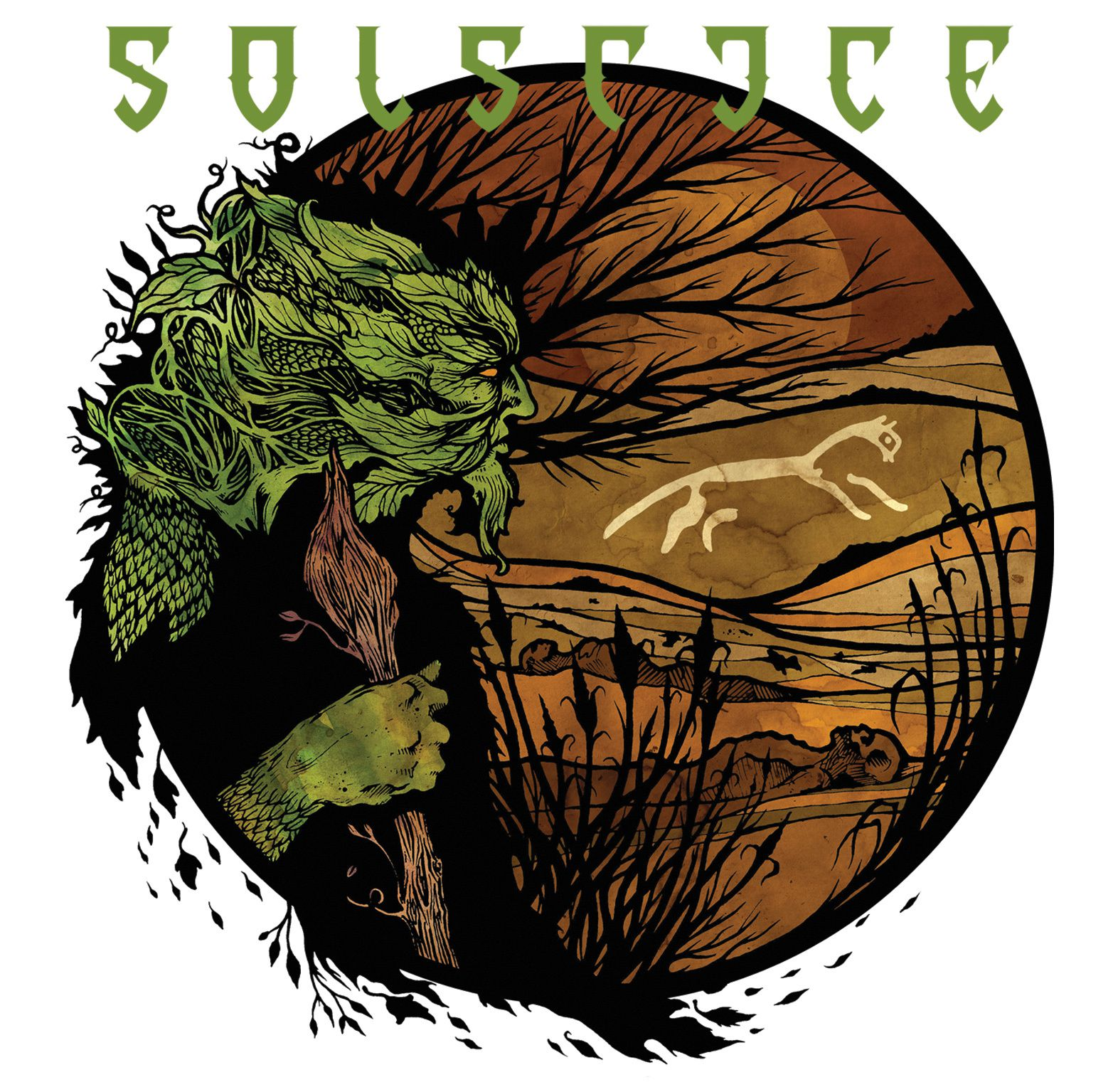 "CD review SOLSTICE ""White Horse Hill"""