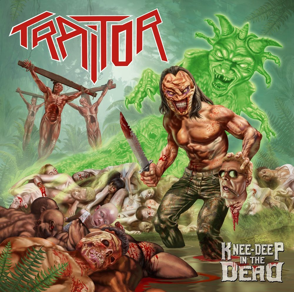 """CD review TRAITOR """"Knee-Deep in the Dead"""""""