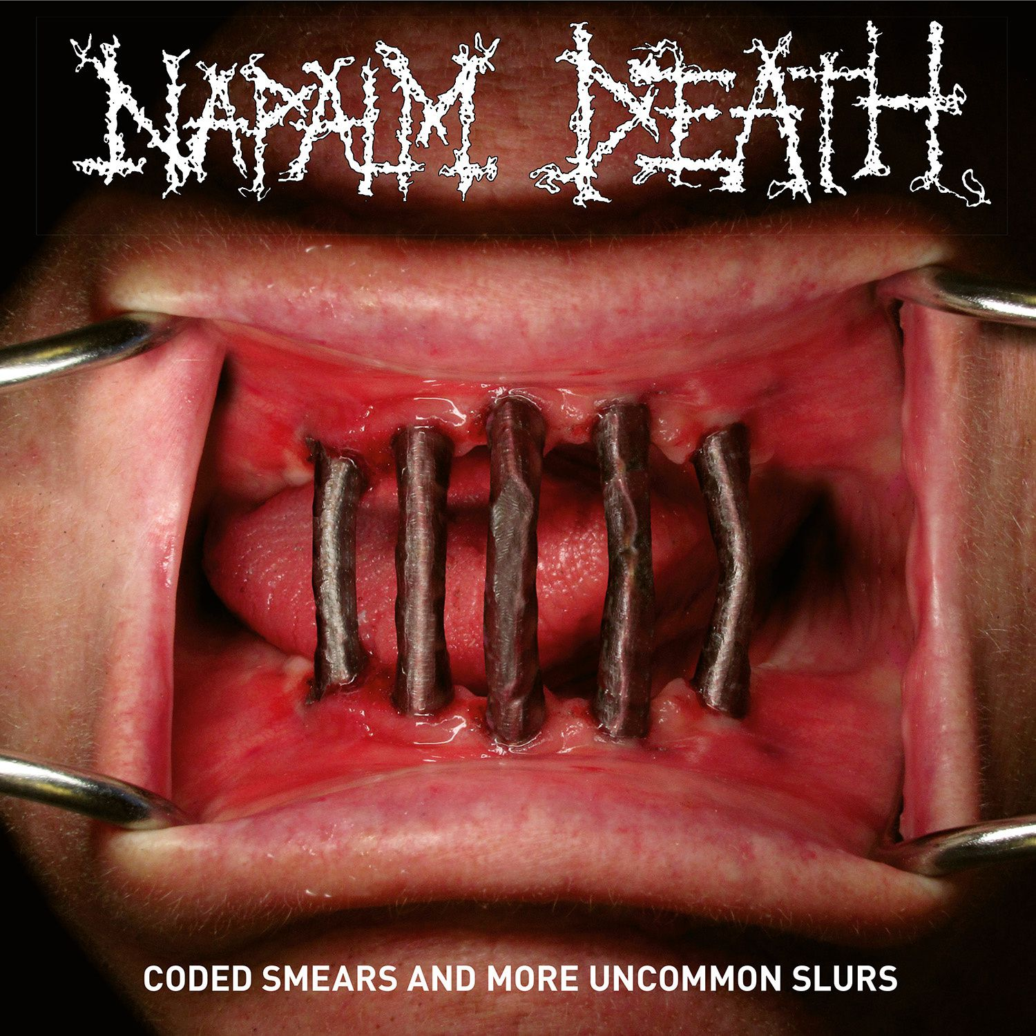 "CD review NAPALM DEATH ""Coded Smears and More Uncommon Slurs"""