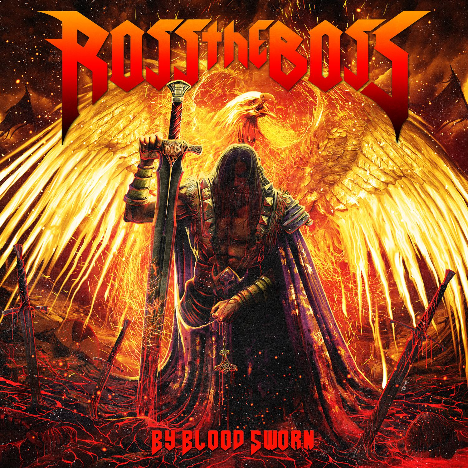 "CD review ROSS THE BOSS ""By Blood Sworn"""