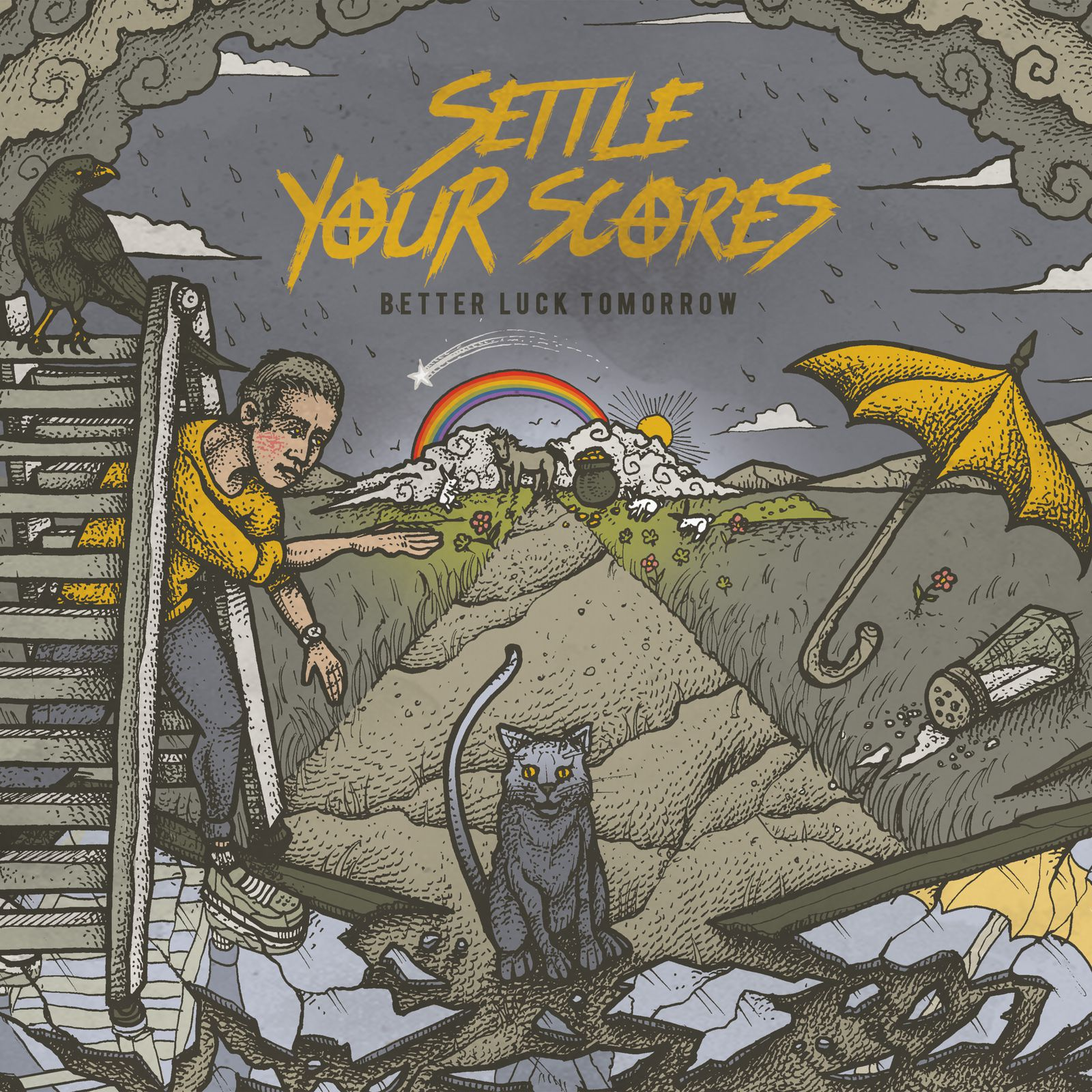 "CD review SETTLE YOUR SCORES ""Better Luck Tomorrow"""