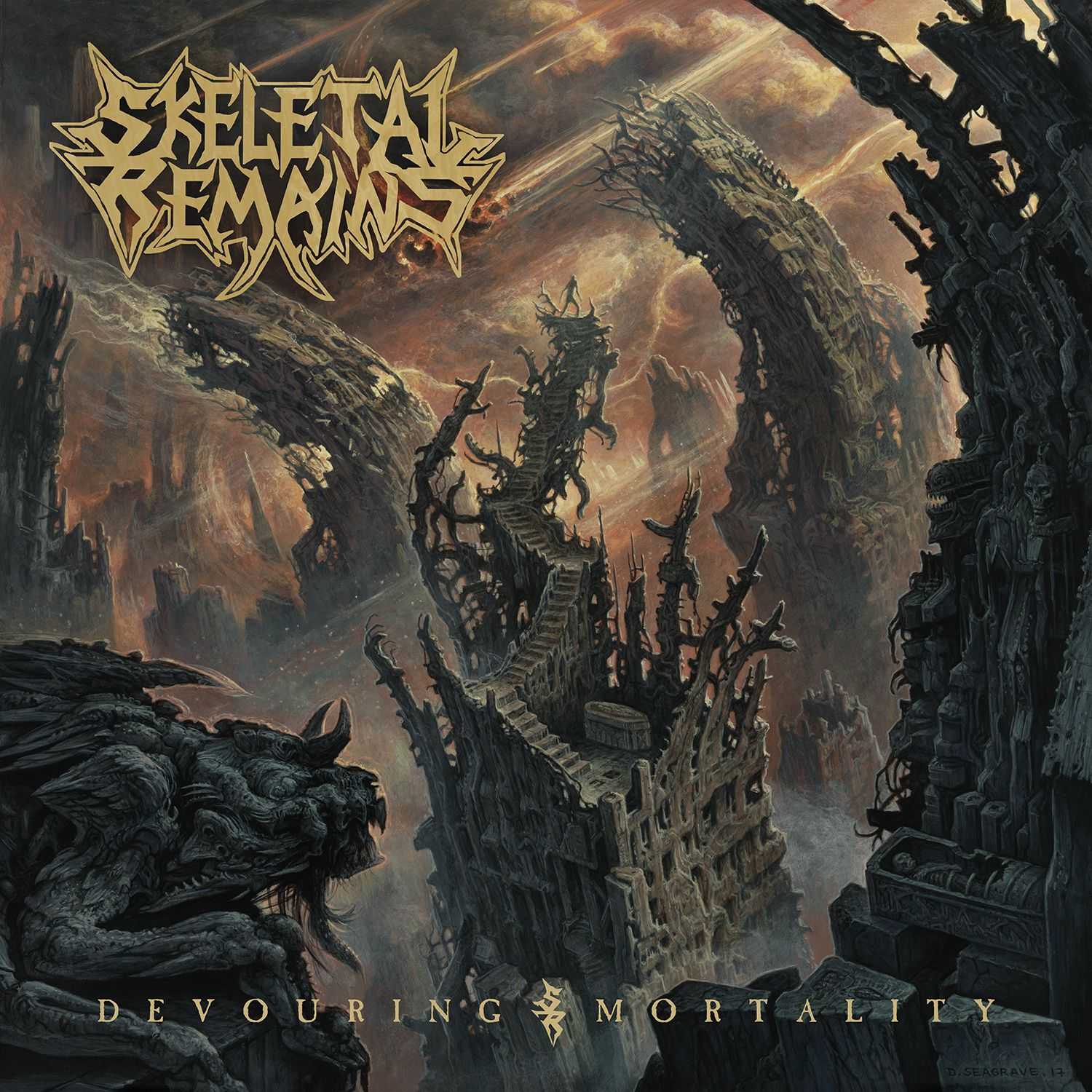 "CD review SKELETAL REMAINS ""Devouring Mortality"""