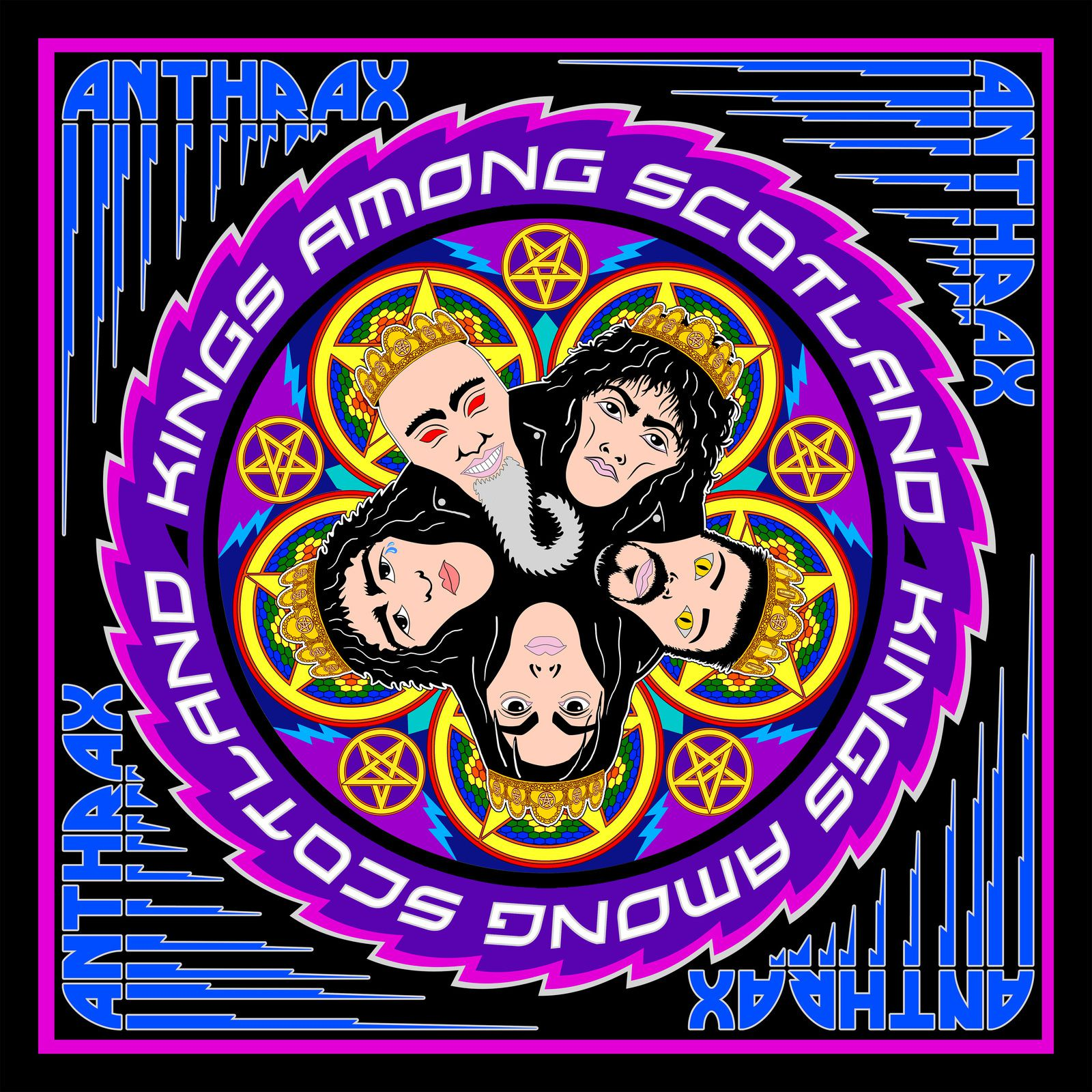 "CD review ANTHRAX ""Kings Among Scotland"""