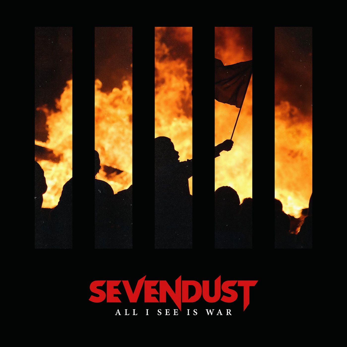 "CD review SEVENDUST ""All I See is War"""