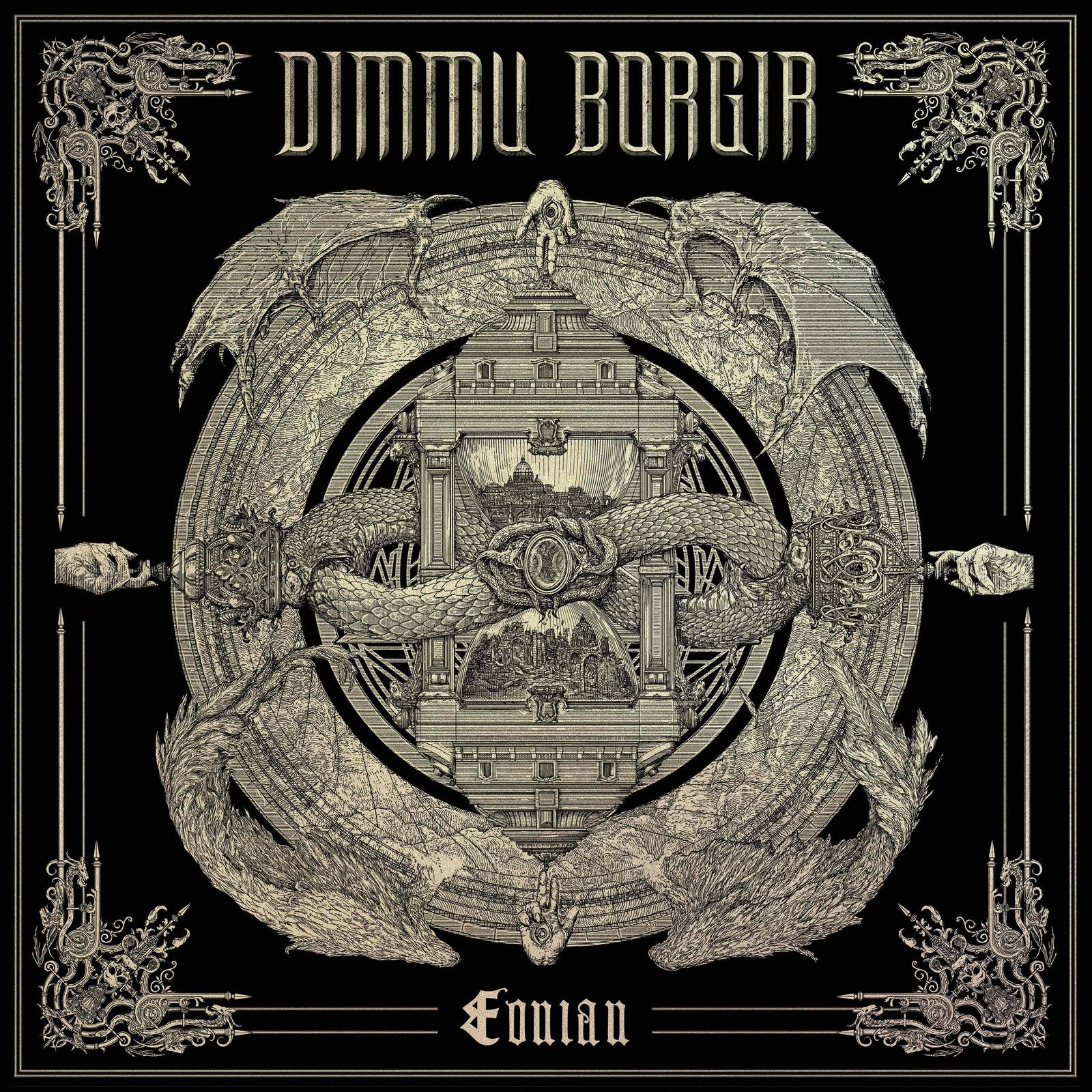 "CD review DIMMU BORGIR ""Eonian"""