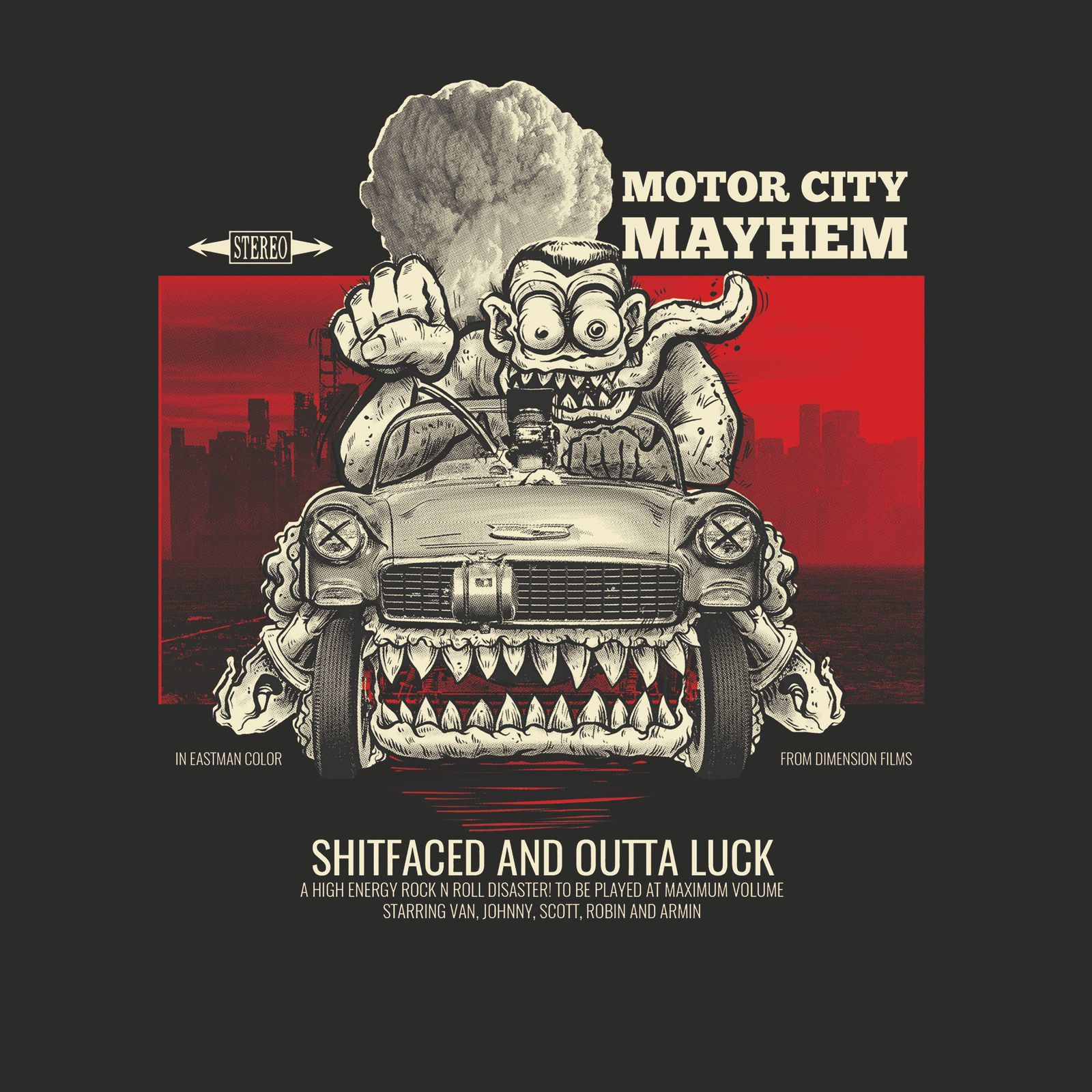 """CD review MOTOR CITY MAYHEM """"Shitfaced and Outta Luck"""""""