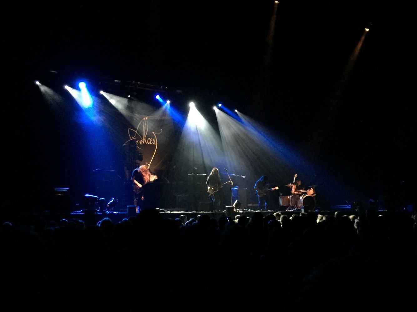 ALCEST in Amsterdam as opener for OPETH