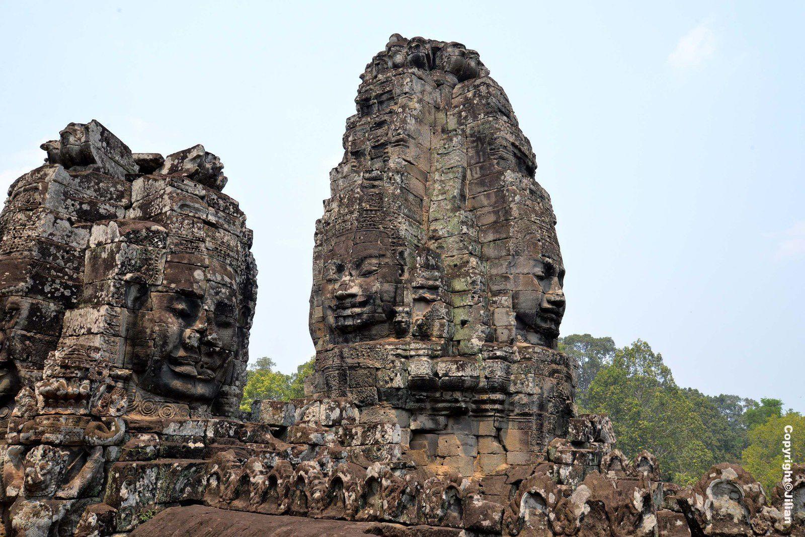 Loin de la Chine, au Cambodge, le peuple mystérieux et étrange de Angkor - Angkor's mysterious and strange inhabitants