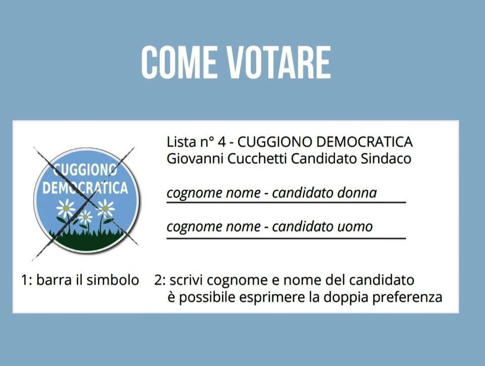Il voto è un diritto...e un dovere