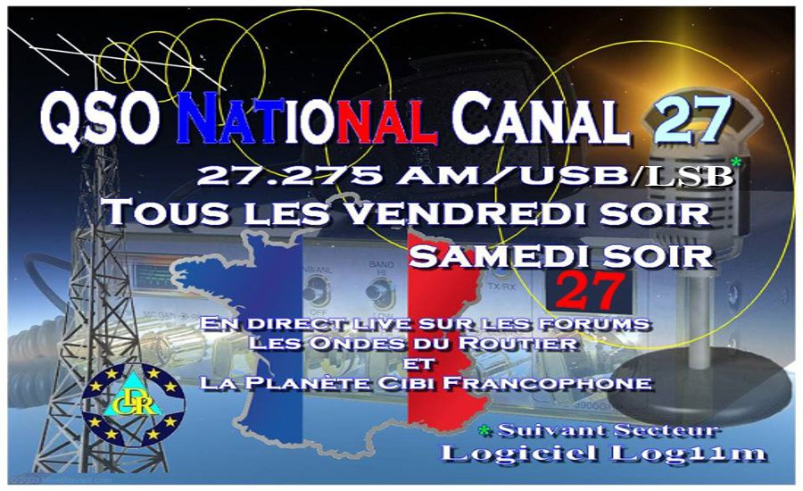 Le Grand QSO National du canal 27 (27,275 Mhz)