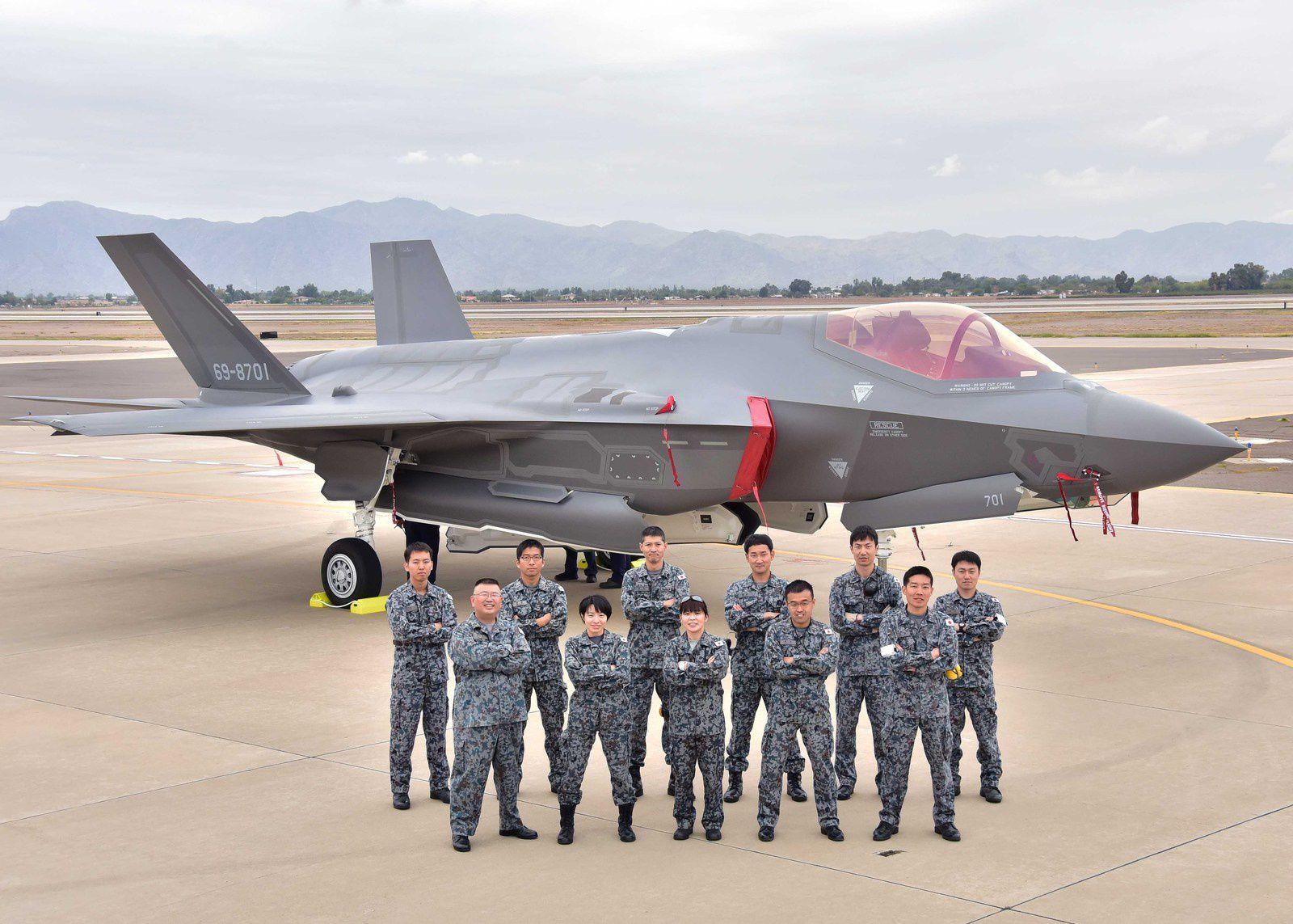 Le Japon réceptionne son premier F-35A Lightning II