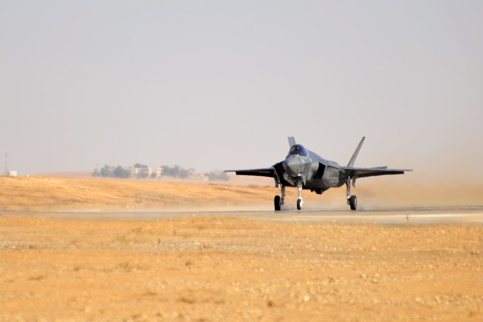 ©IAF - Premières opérations aériennes depuis la base aérienne de Nevatim.