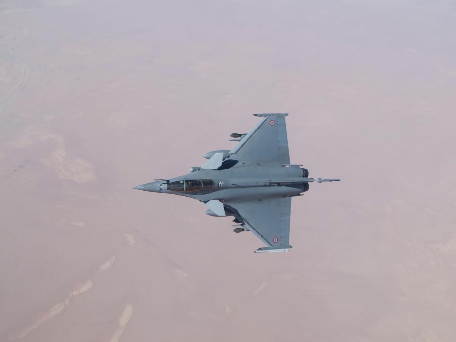La force Chammal a effectué plus de 6 000 sorties aériennes depuis le début des opérations