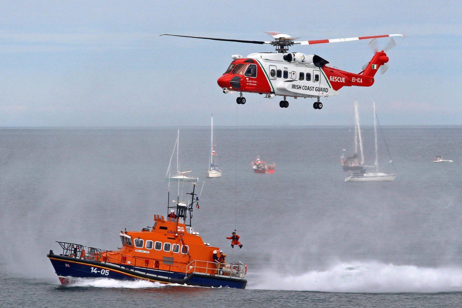 Un hélicoptère S-92 des Gardes-Côtes irlandais s'est abîmé dans l'océan Atlantique nord