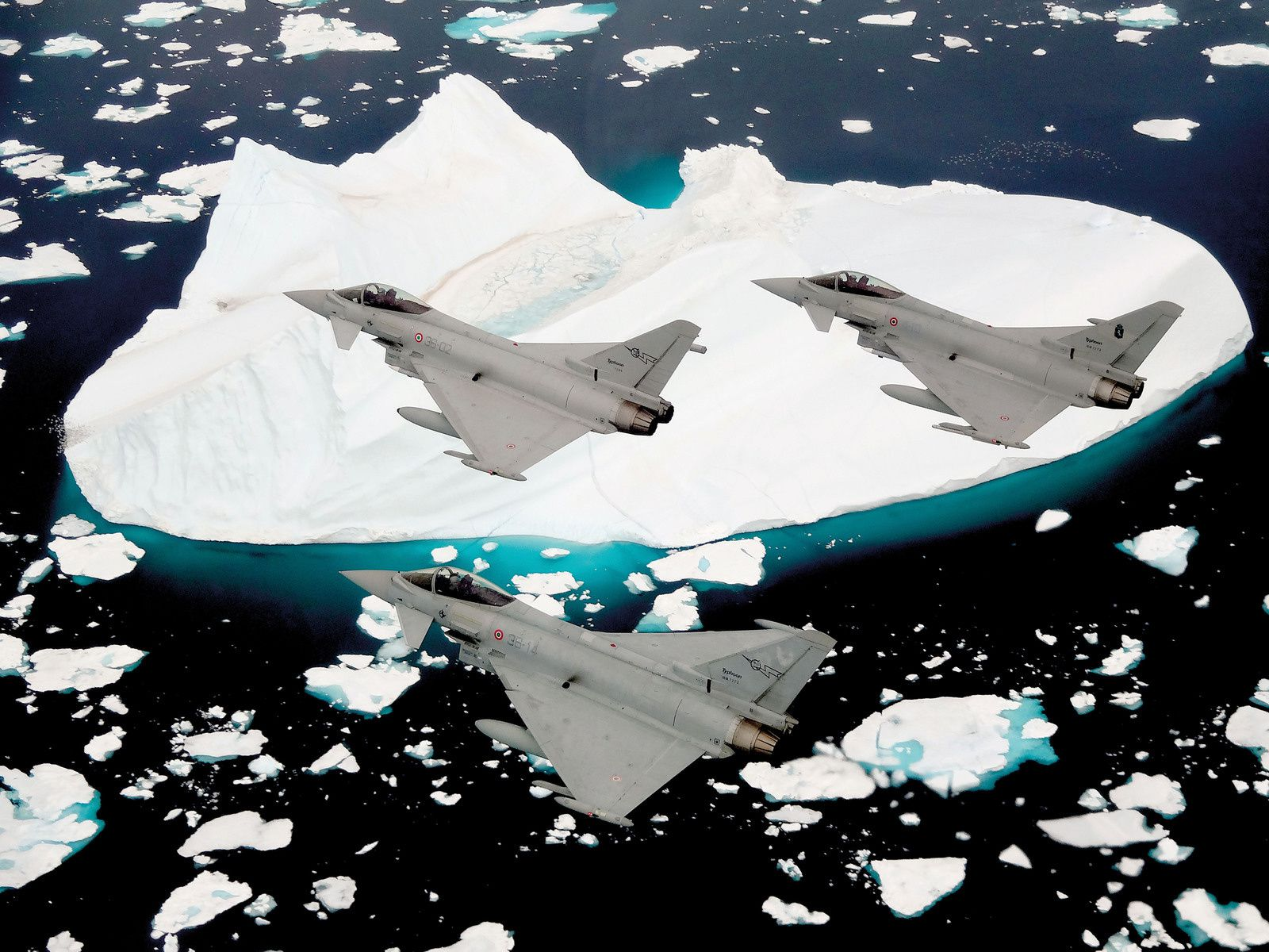 L'Aeronautica Militare déploie six Eurofighter Typhoon en Islande