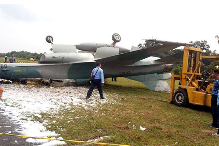 La Force Aérienne Indonésienne cloue au sol sa flotte de F-16 après un accident au sol
