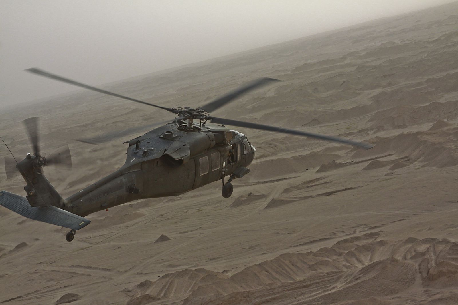 Un hélicoptère UH-60 Black Hawk s'est écrasé lors d'un entraînement