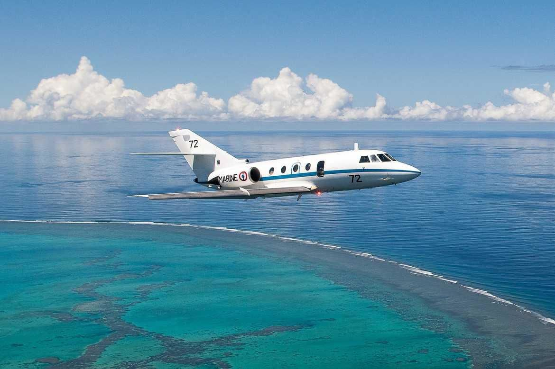 Polynésie française : les bulletins de vote du second tour seront largués par un Falcon 200 de la Marine Nationale