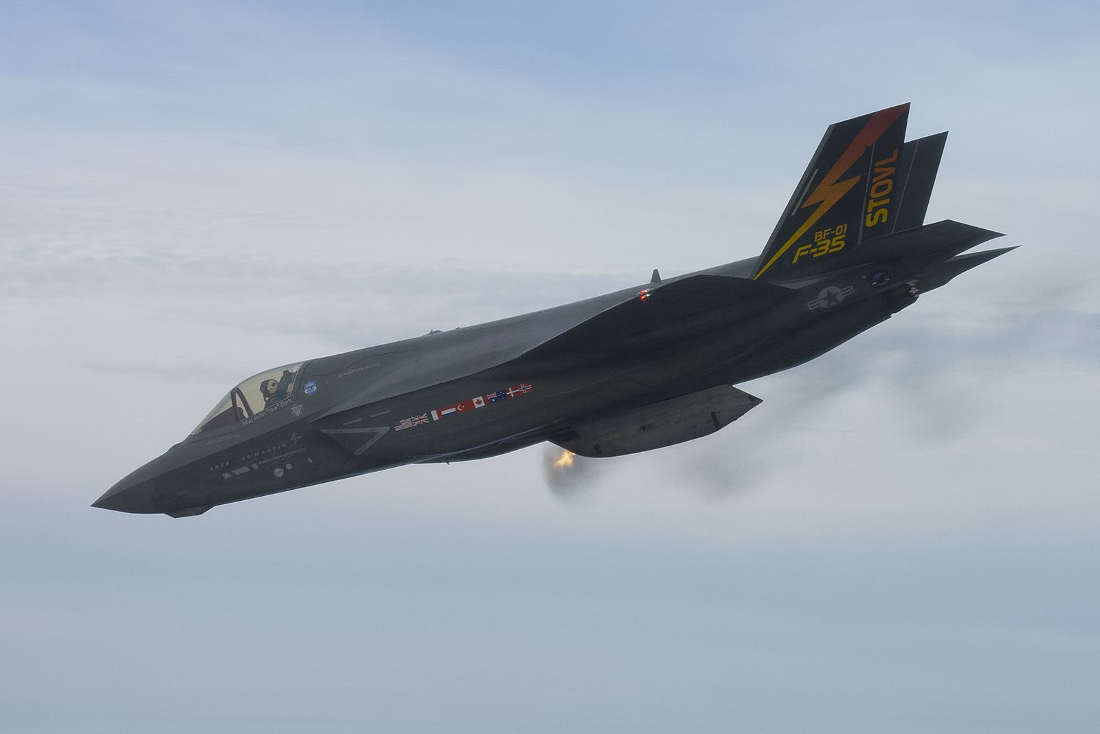 VIDEO - Le F-35B Lightning II a terminé les essais en vol de son canon