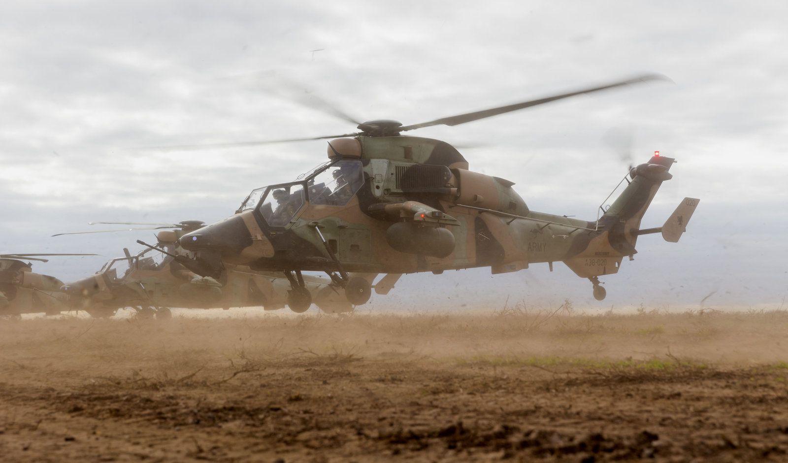 Airbus Helicopters alerte les utilisateurs de l'hélicoptère Tigre après l'accident mortel au Mali
