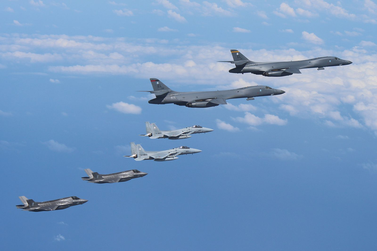© Republic of Korea Air Force / Japan Air Self-Defense Force / US Air Force.