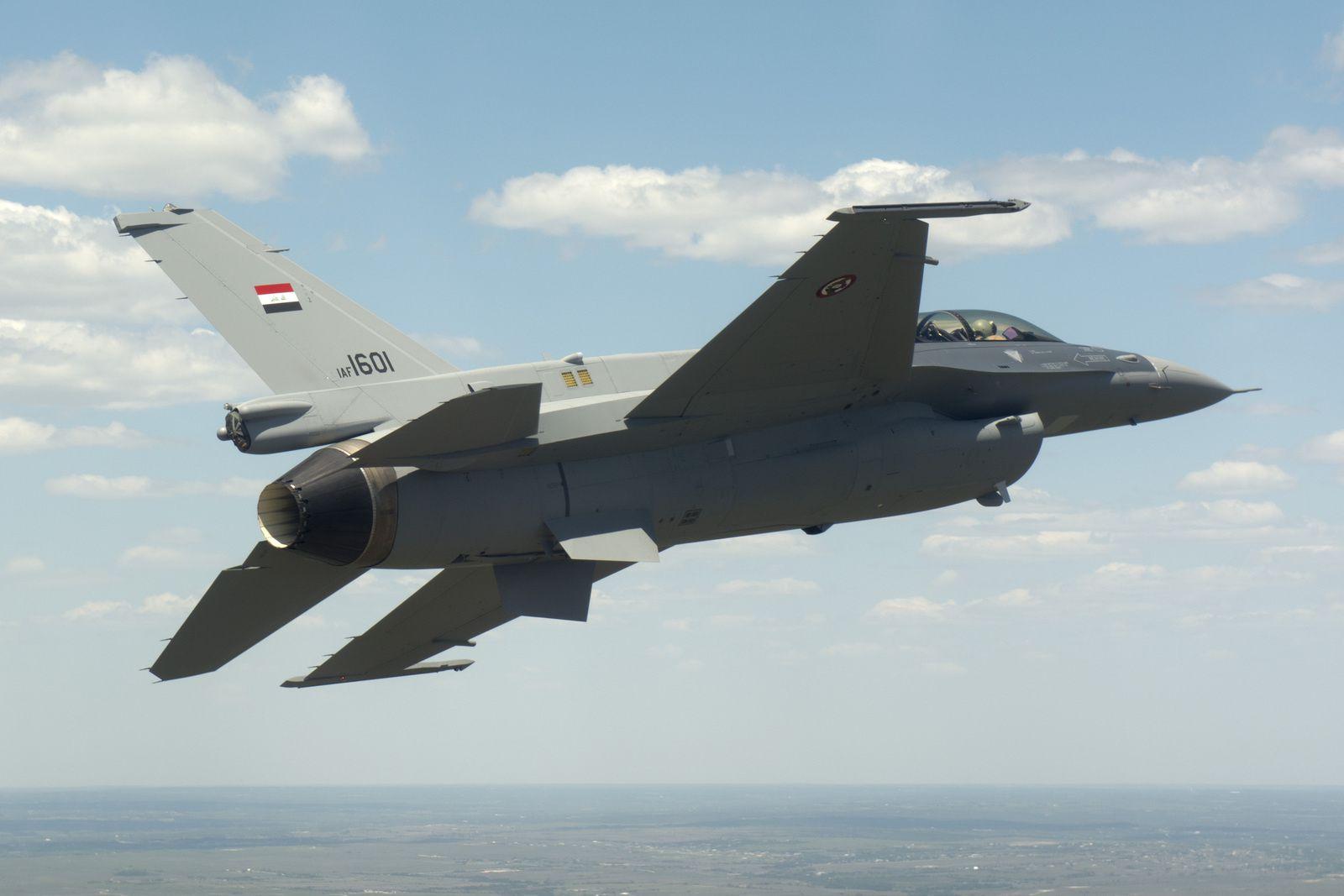 Un élève-pilote irakien se tue dans le crash de son F-16C/D