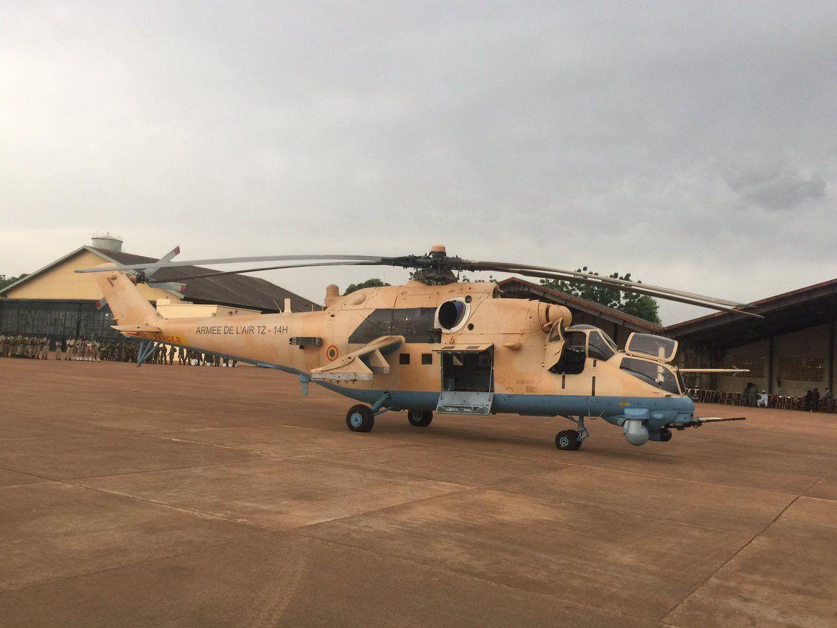 La Force Aérienne Malienne réceptionne ses deux premiers Mi-35M Hind