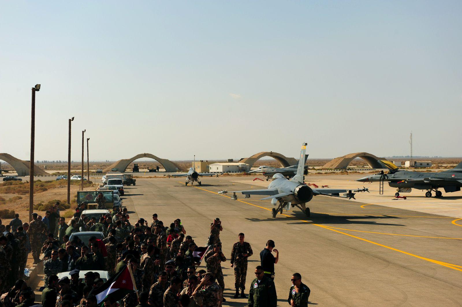 Face à la suractivité et à l'insécurité, les Etats-Unis vont aménager la base aérienne d'Al Azraq