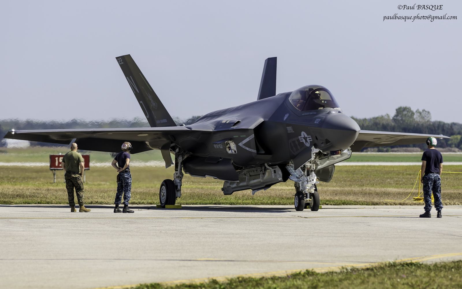 Qu'on l'aime ou non, le F-35 a une «gueule» singulière.