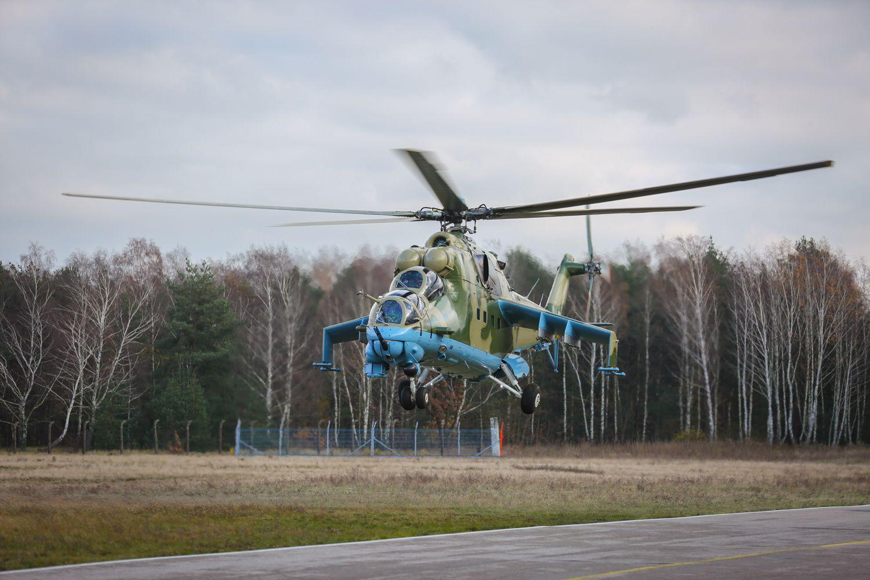 La Force aérienne sénégalaise a modernisé ses hélicoptères Mi-24V Hind