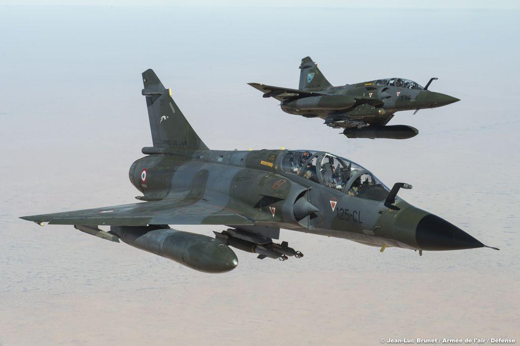 Les Mirage 2000N viennent de s'engager dans leur dernière opération extérieure