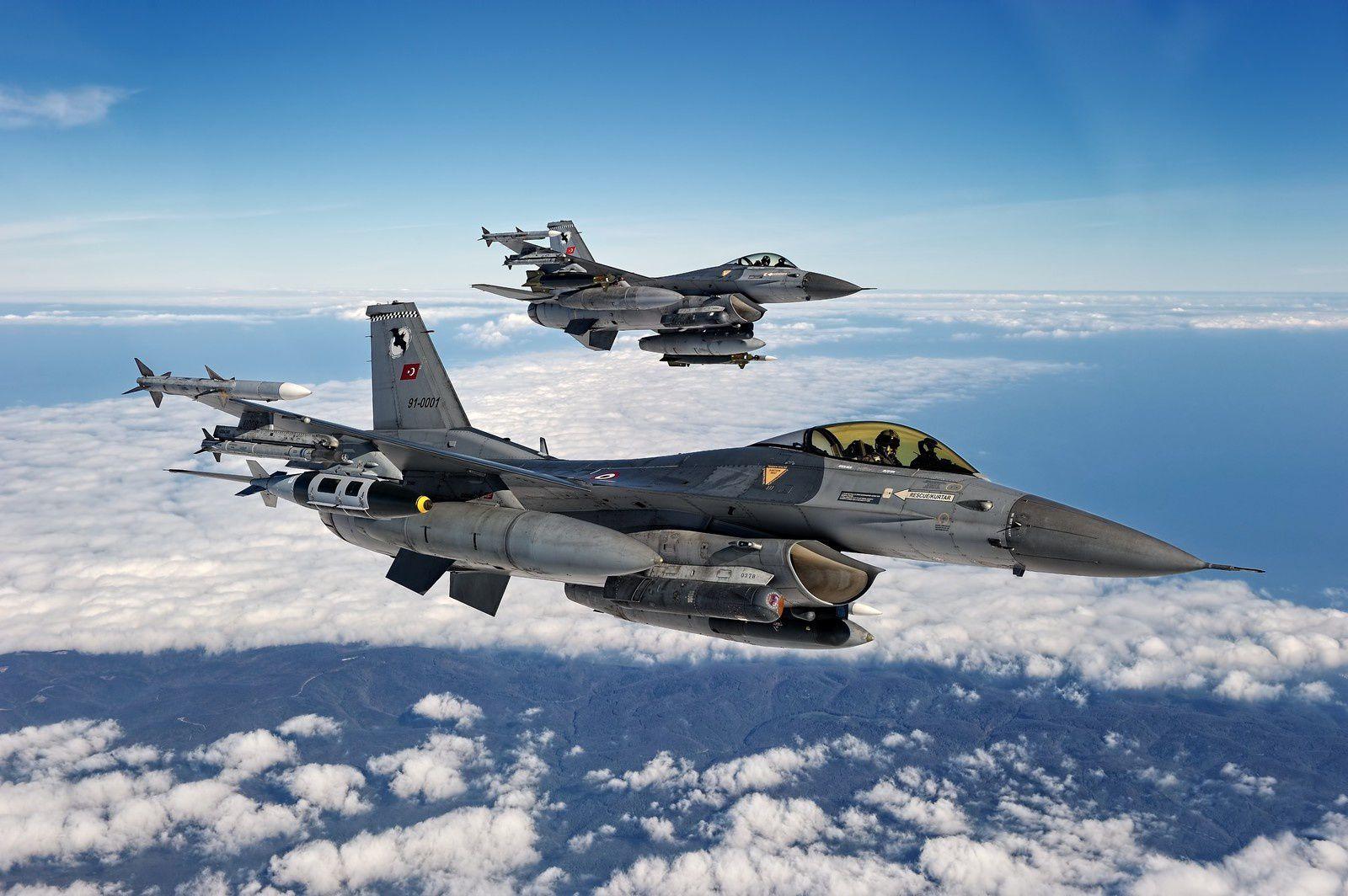 Un F-16C turc s'est écrasé lors d'une mission d'entraînement