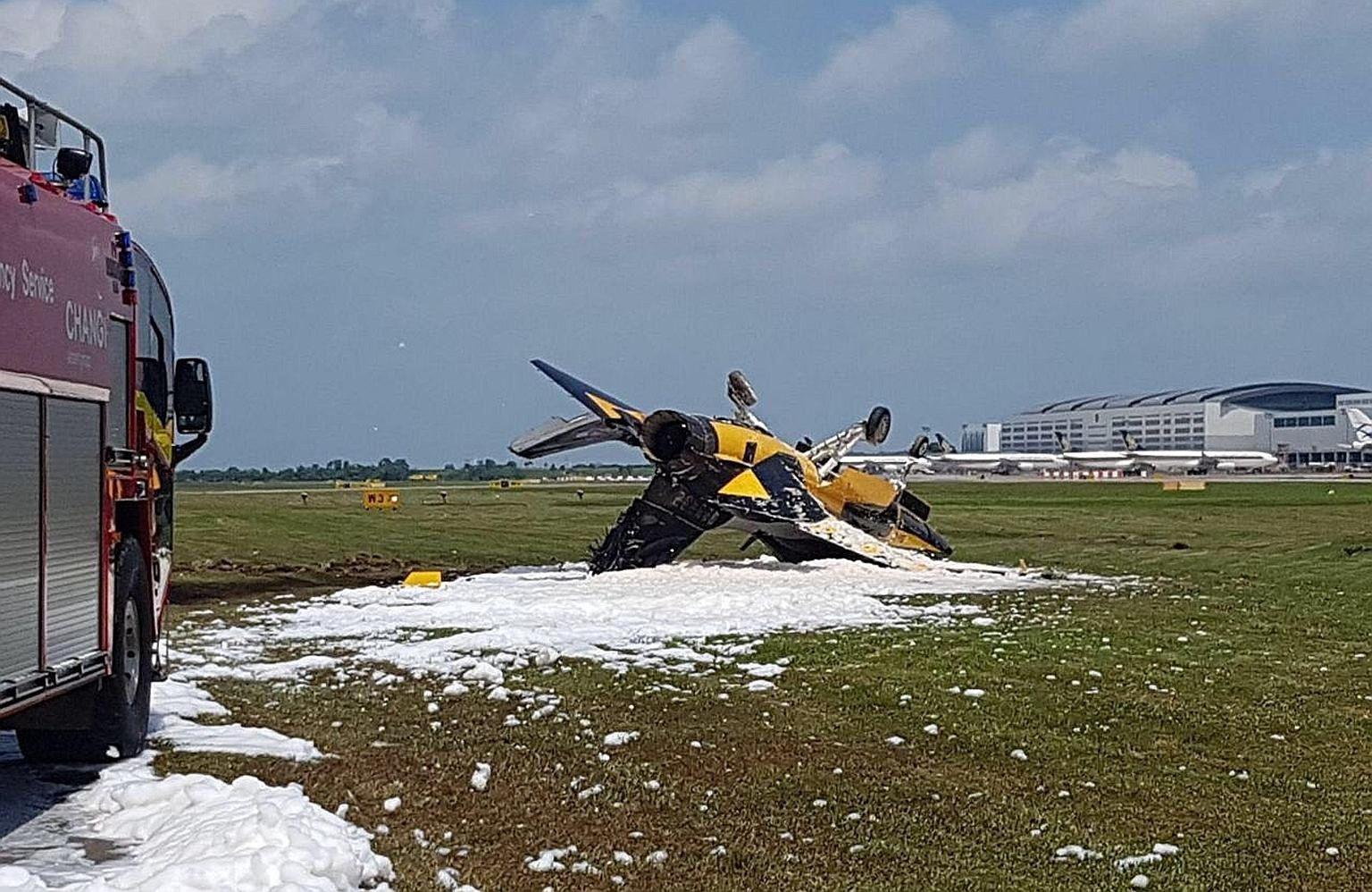 L'accident du T-50B des Black Eagles est dû à une erreur du pilote