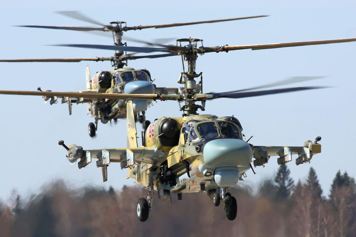 Syrie : Un Ka-52 Alligator s'est écrasé pendant une opération