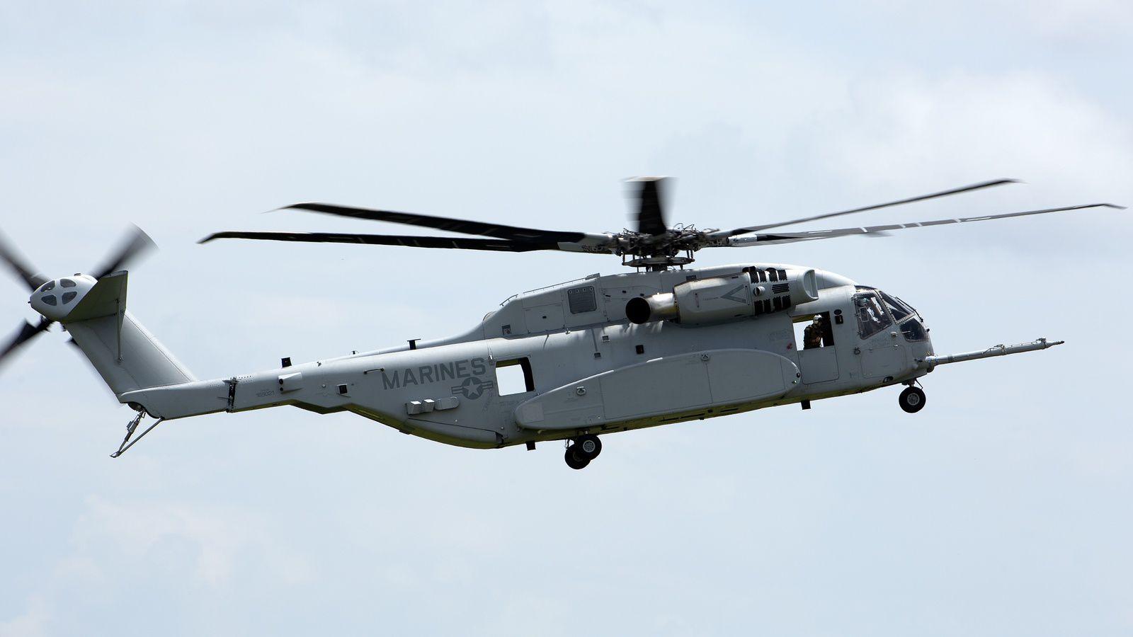 L'US Marine Corps réceptionne son premier CH-53K King Stallion
