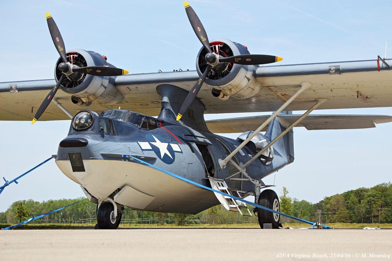 Un PBY-5A Catalina, l'hydravion militaire mythique de la Seconde Guerre mondiale, sera de retour à Biscarrosse pour le RIH 2018.