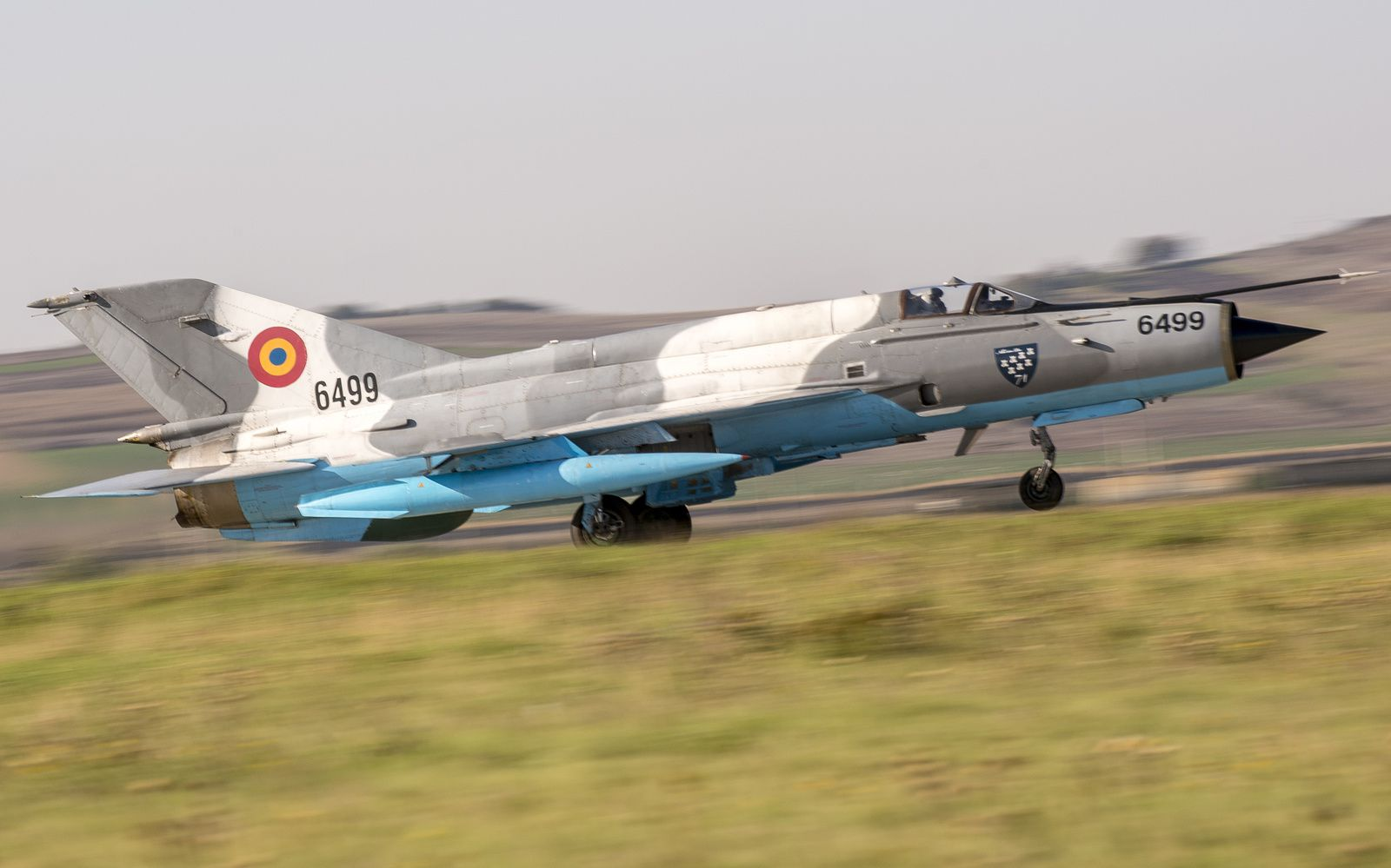 Un Mig-21 de la Force aérienne roumaine s'est écrasé lors d'une démonstration aérienne