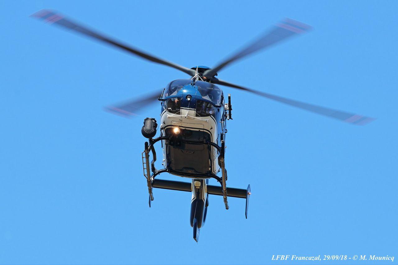 Appareil polyvalent, l'EC-135T2+ de la Gendarmerie peut réaliser des missions de surveillance, de sauvetage ou encore de déploiement du GIGN.