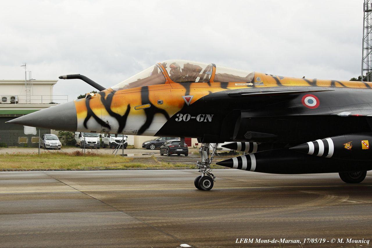 PHOTOS - Les tigres du Tiger Meet 2019 ont rugi sur la BA 118 de Mont-de-Marsan
