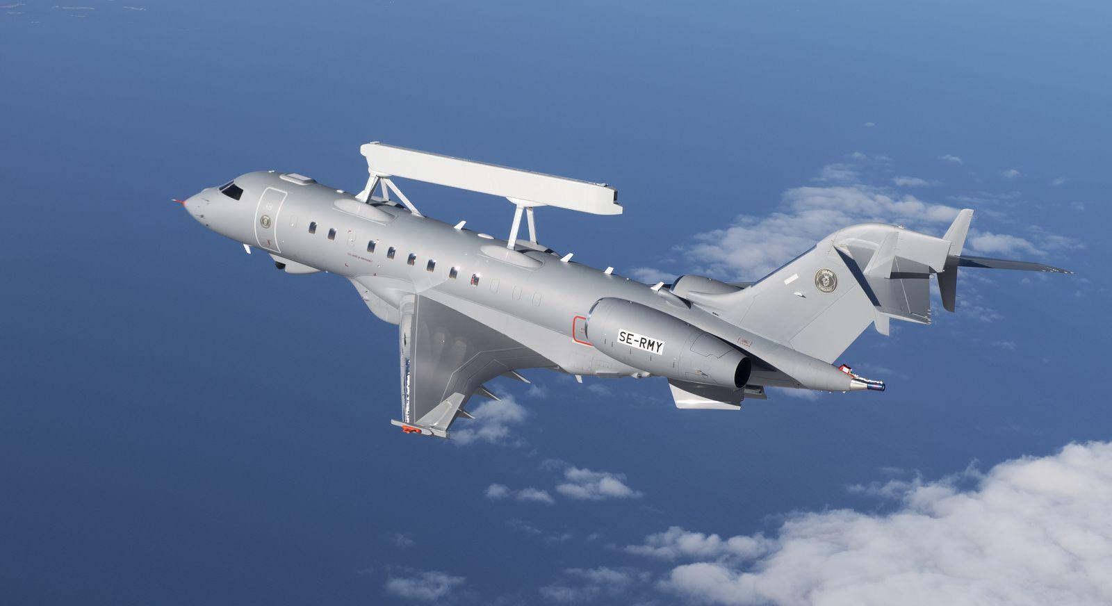 Saab propose son avion d'alerte avancée GlobalEye à la Finlande